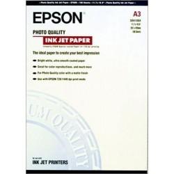 EPSON Boîte de 100 feuilles de papier couché format A3 référence C13S041068