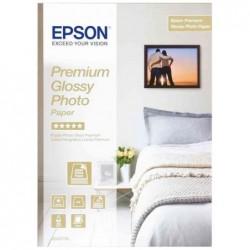 EPSON Pack de 2 x 40 Feuilles Papier photo original Premium Glossy 10 x 15 cm 255g