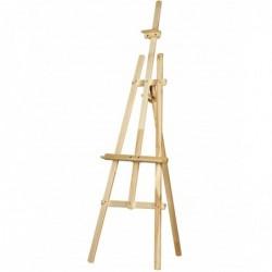 ROYAL TALENS Chevalet d'atelier ISABEL à 3 pieds bois H 1700mm toile max 1400 mm