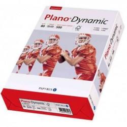 PAPYRUS Ramette 500 feuilles Papier Plano Dynamic A4 80g perforé 2 trous Blanc