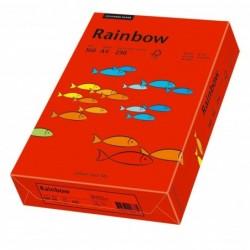 PAPYRUS Ramette 250 feuilles papier multifonction Rainbow A4 160 g Rouge intense