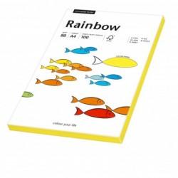 PAPYRUS Papier multifonction Rainbow A4 80 g Jaune fluo 100 feuilles