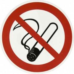 """PAPYRUS écriteau """"interdit de fumer"""", en plastique, rond"""