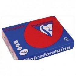 TROPHÉE Ramette 250 Feuilles Papier 160g A4 210x297 mm Certifié FSC  Rouge groseille