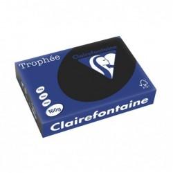 CLAIRALFA Ramette de 250 feuilles Papier multifonction Trophée A4 160g Noir