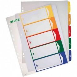LEITZ intercalaire en plastique, numérique, format A4 extra 1 - 6