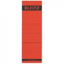 LEITZ Etiquette autocollantes dos de classeurs 61 x 192 mm Rouge x10