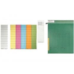 LEITZ Blanko-Beschriftungsschildchen, (B)60 x (H)14 mm, weiß