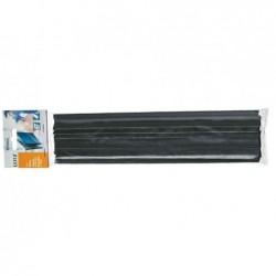 LEITZ Lot de 50 Baguette à relier A4 Capacité 3 mm Noir