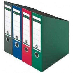 LEITZ Porte-revues,  A4 Dos de 8, en carton, Vert x 1