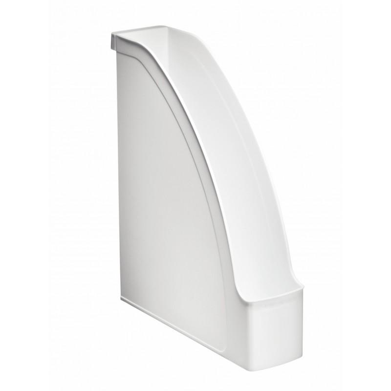 LEITZ Porte-revues Plus pour A4 polystyrène Dos 70 mm 78 x 300 x 278 Blanc