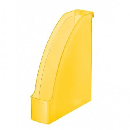 LEITZ Porte-revues Plus pour A4 polystyrène Dos 70 mm 78 x 300 x 278 Jaune givré