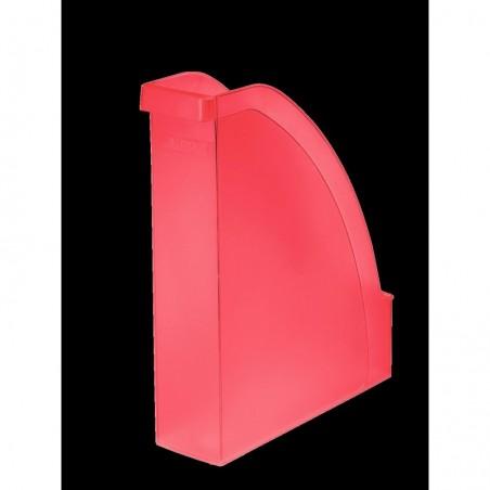LEITZ Porte-revues Plus pour A4 polystyrène Dos 70 mm 78 x 300 x 278 Rouge givré