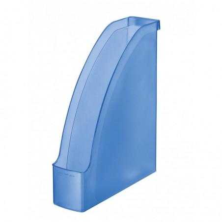 LEITZ Porte-revues Plus pour A4 polystyrène Dos 70 mm 78 x 300 x 278 Bleu givré