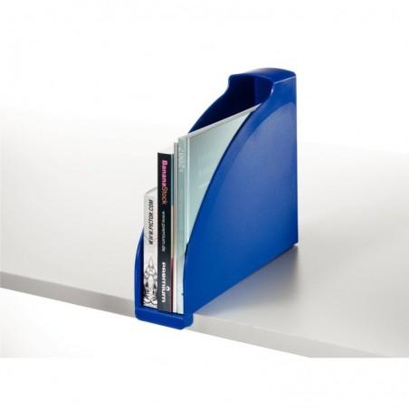LEITZ Porte-revues Plus pour A4 polystyrène Dos 70 mm 78 x 300 x 278 Bleu foncé