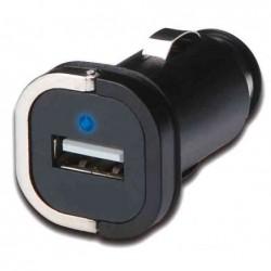 EDNET Mini chargeur Automobile à LED USB iPhone/iPod/iPad MP3 Noir