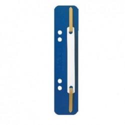 LEITZ Paquet de 25 reliures à lamelle 35 x 158 mm Bleu