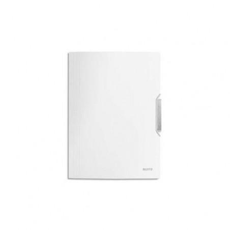 LEITZ Chemise 3 rabats en PP A4 Style Blanc