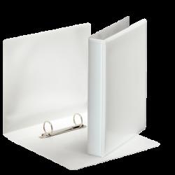 ESSELTE Classeur personnalisable 2 Anneaux Format A5 Dos de 40 mm Blanc