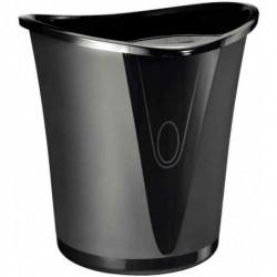 LEITZ Corbeille à papier Allura plastique 18 l Noir