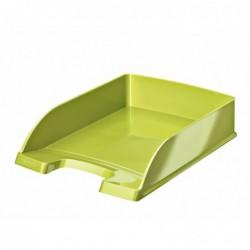 LEITZ Corbeille à courrier Plus WOW, A4, polystyrène, vert