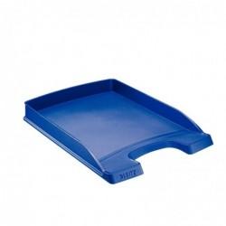 LEITZ Bac à courrier Plus plat, A4, polystyrène Bleu