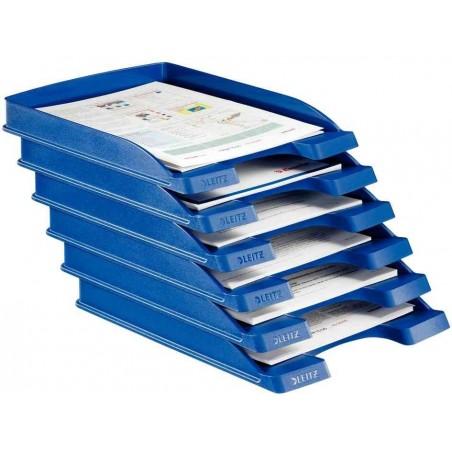 LEITZ Bac à courrier Plus plat, A4, polystyrène Gris x 1