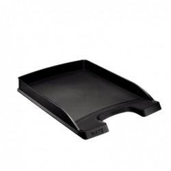 LEITZ Bac à courrier Plus plat, A4, polystyrène Noir