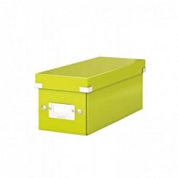 LEITZ boîte de rangement pour CD Click & Store WOW, vert