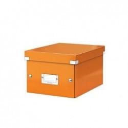 LEITZ Boîte de rangement Click & Store WOW, A5, orange