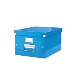 LEITZ Coffret Click & Store WOW format A4 bleu