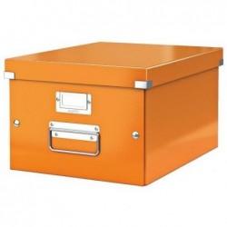 LEITZ Coffret Click & Store WOW A4 L281 x P369 x H200 mm Orange