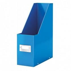 LEITZ boîte à pans Click & Store WOW, format A4, en carton, bleu