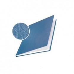 LEITZ Impressbind Lot de 10 Chemise carton toilé rigide 3,5 mm 15 à 35 feuilles Bleu foncé