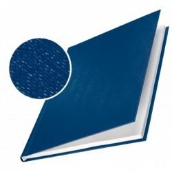 LEITZ Lot de 10 Chemise carton toilé rigide 10,5 mm 71 à 105 feuilles Bleu foncé