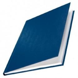 LEITZ Lot de 10 Chemise carton toilé rigide 14 mm 106 à 140 feuilles Bleu