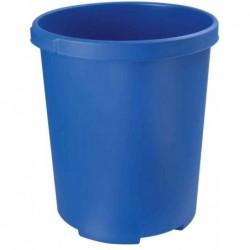 HAN Corbeille à papier MOBIL XXL 50 litres PP Rond 43 cm H 49 cm Bleu