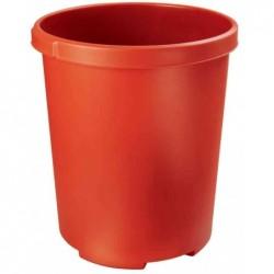 HAN Corbeille à papier MOBIL XXL 50 litres PP Rond 43 cm H 49 cm Rouge