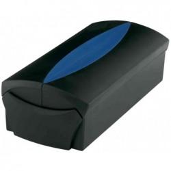 HAN Boîte à cartes de visite VIP capacité max. 500 cartes Noir/bleu