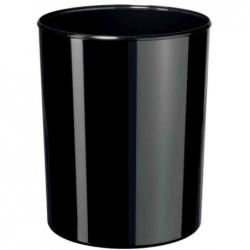 HAN Corbeille à papier i-Line 13 litres Plastique H 30 cm Diam 24 cm Noir