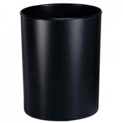 HAN Corbeille à papier ininflammable 20 litres H 34 cm Noir