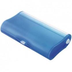 """HAN Trousse """"3-COMPARTIMENTS-COOL"""" , plastique, bleu"""
