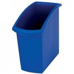 HAN Corbeille à papier MONDO, 18 litres, carré, bleu
