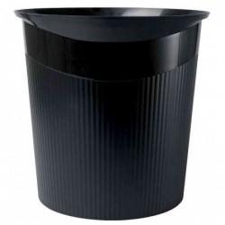 HAN Corbeille à papier LOOP, 13 litres Noir