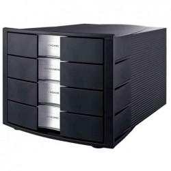 HAN Module de classement IMPULS 4 tiroirs Noir boîtier noir