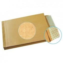 GPV Boîte de 100 sacs à soufflets kraft armé brun 275 x 365 mm 130 g/m²