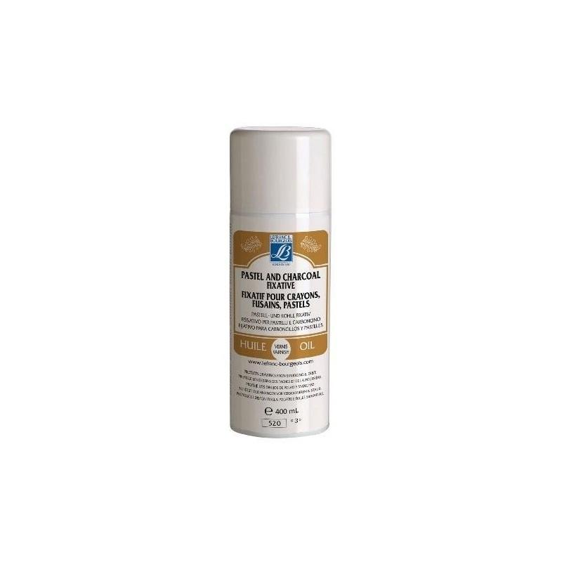 LEFRANC BOURGEOIS Fixatif aérosol 400 ml pour crayon et fusain