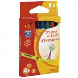 LEFRANC BOURGEOIS Crayons à la cire, diamètre: 8 mm