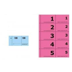 SIGEL 30 x bloc de numéro...