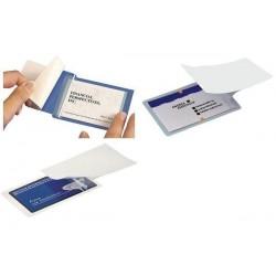 SIGEL Film de plastification à froid pour cartes jusqu'à 85x55mm, pqt 100